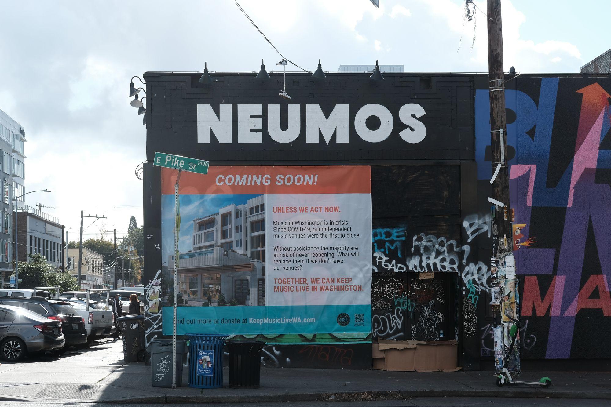 Neumos COVID Seattle 2020