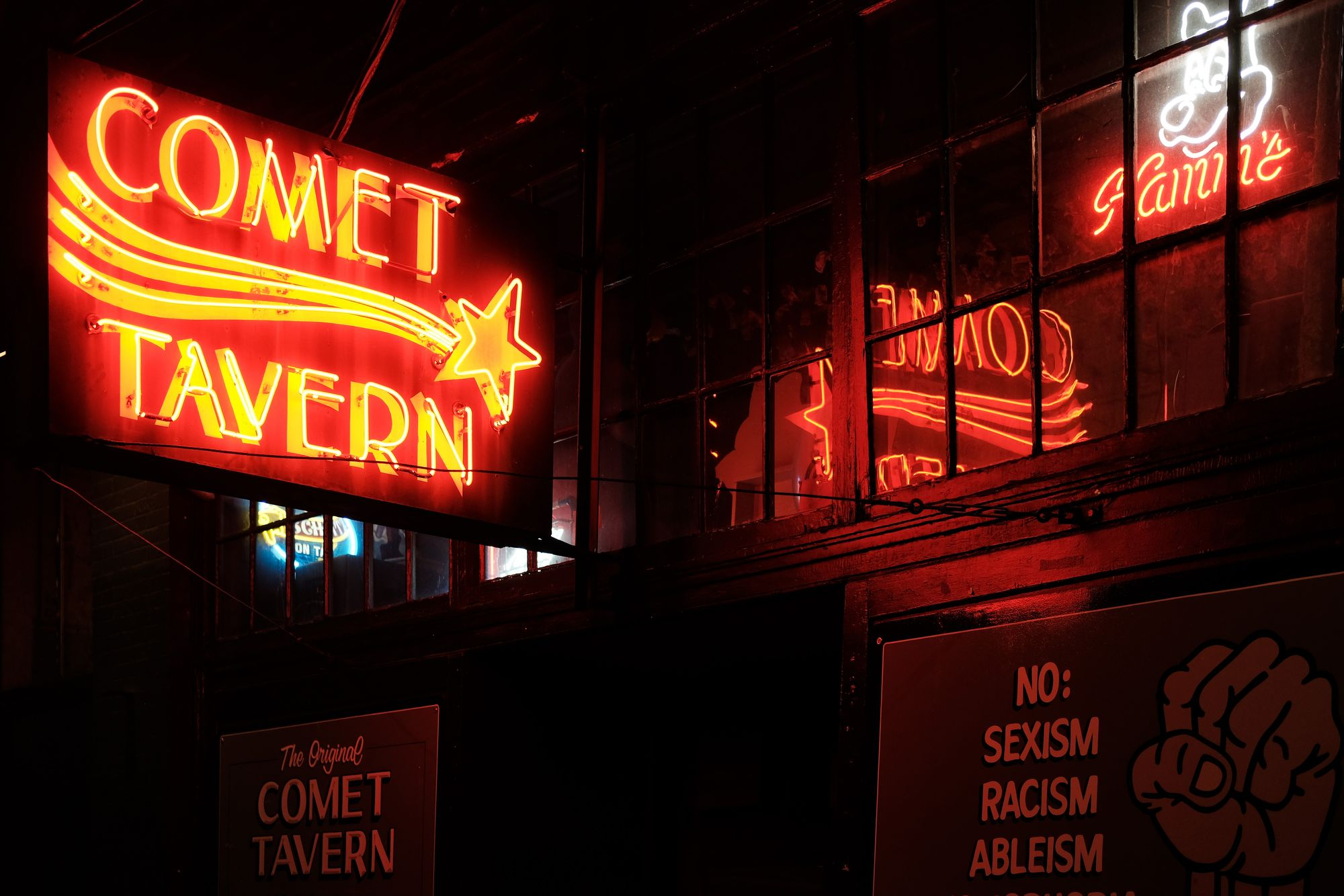 Comet Capitol Hill Seattle