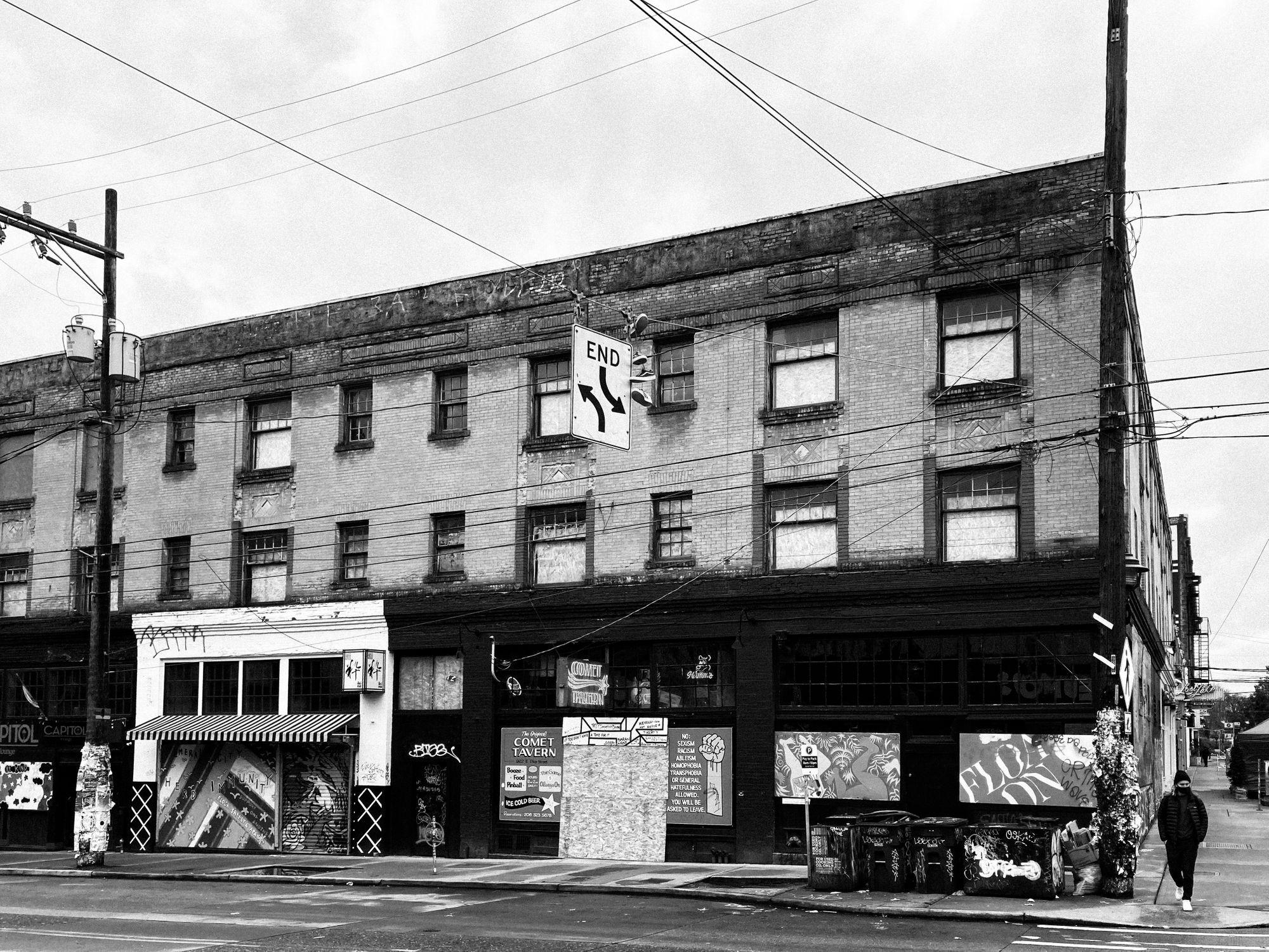 Comet Tavern Capitol Hill Seattle