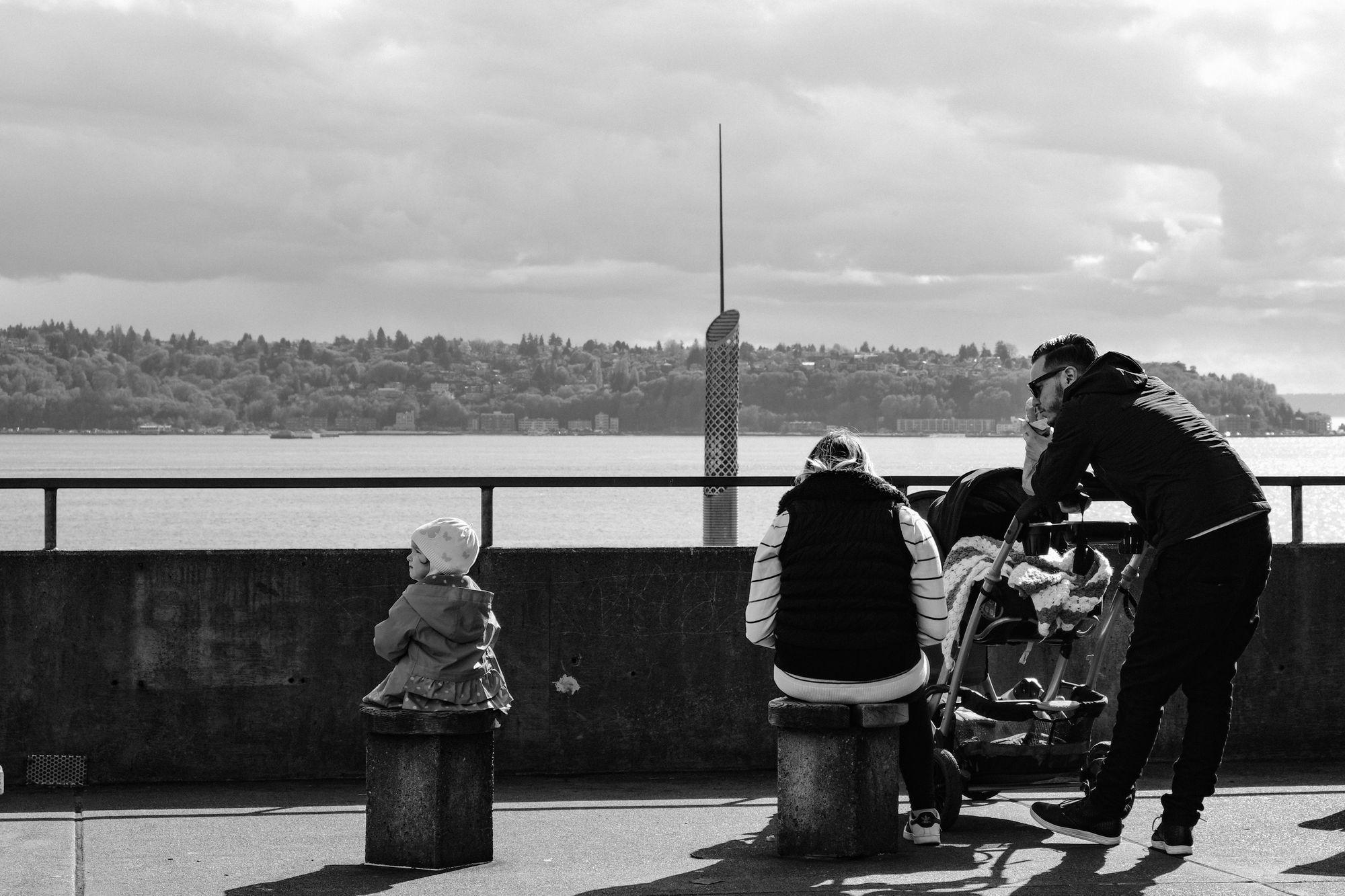 Pike Place Market area Seattle