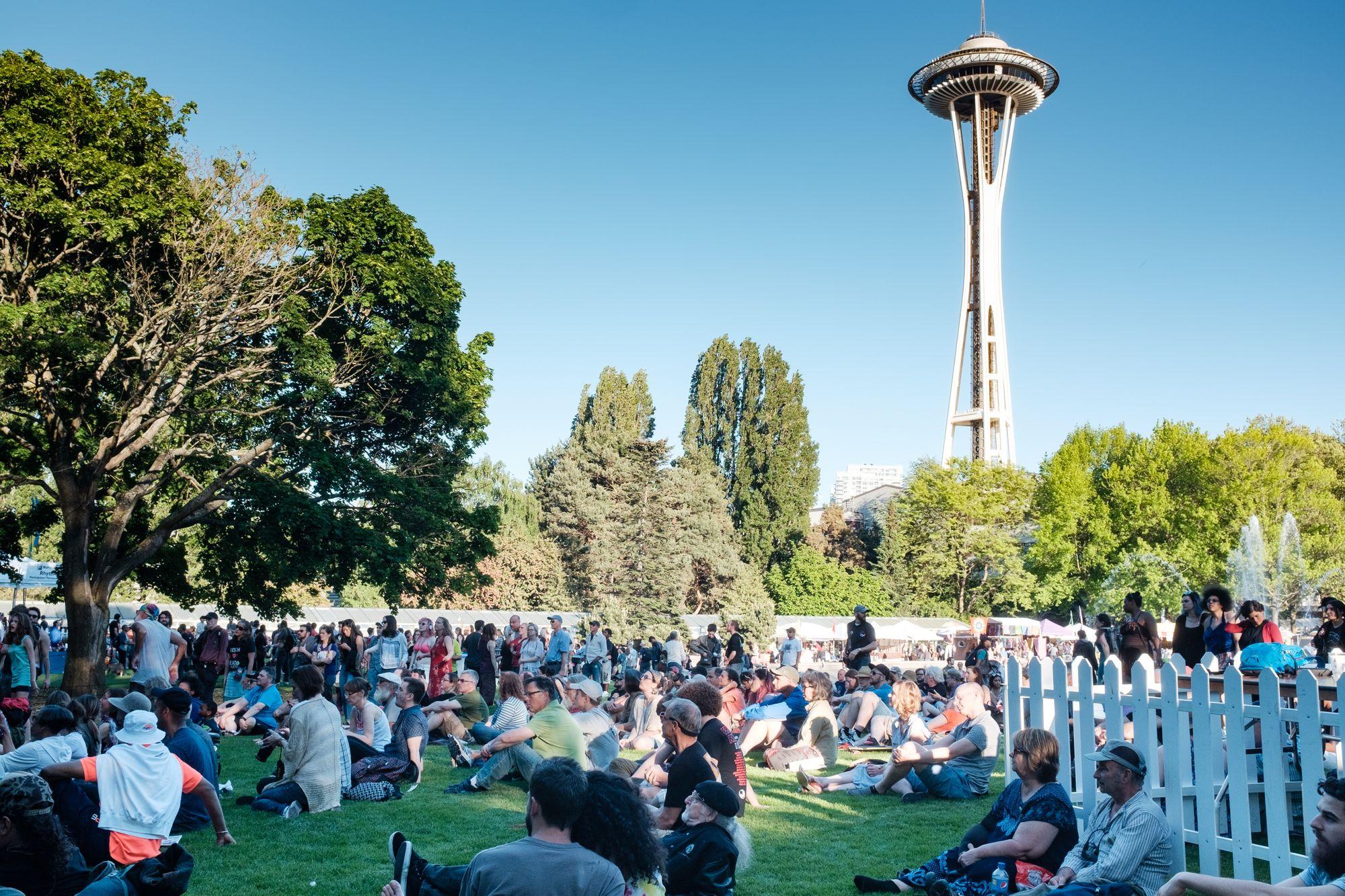 Northwest Folklife Festival Seattle 2017