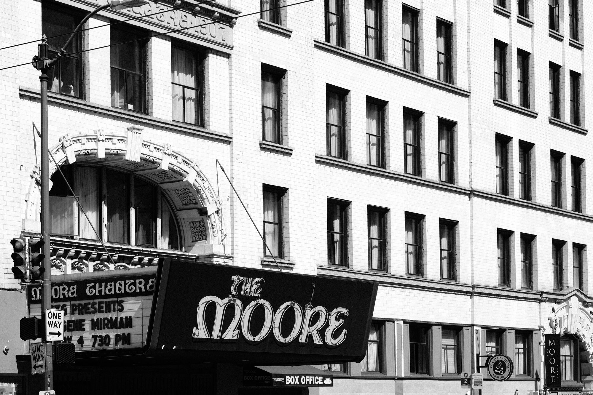 The Moore Theatre Seattle
