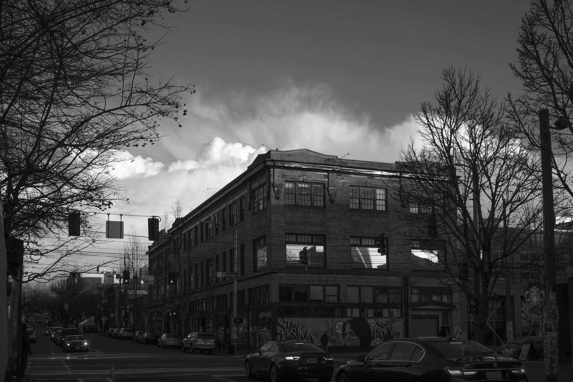 A dark Capitol Hill Seattle