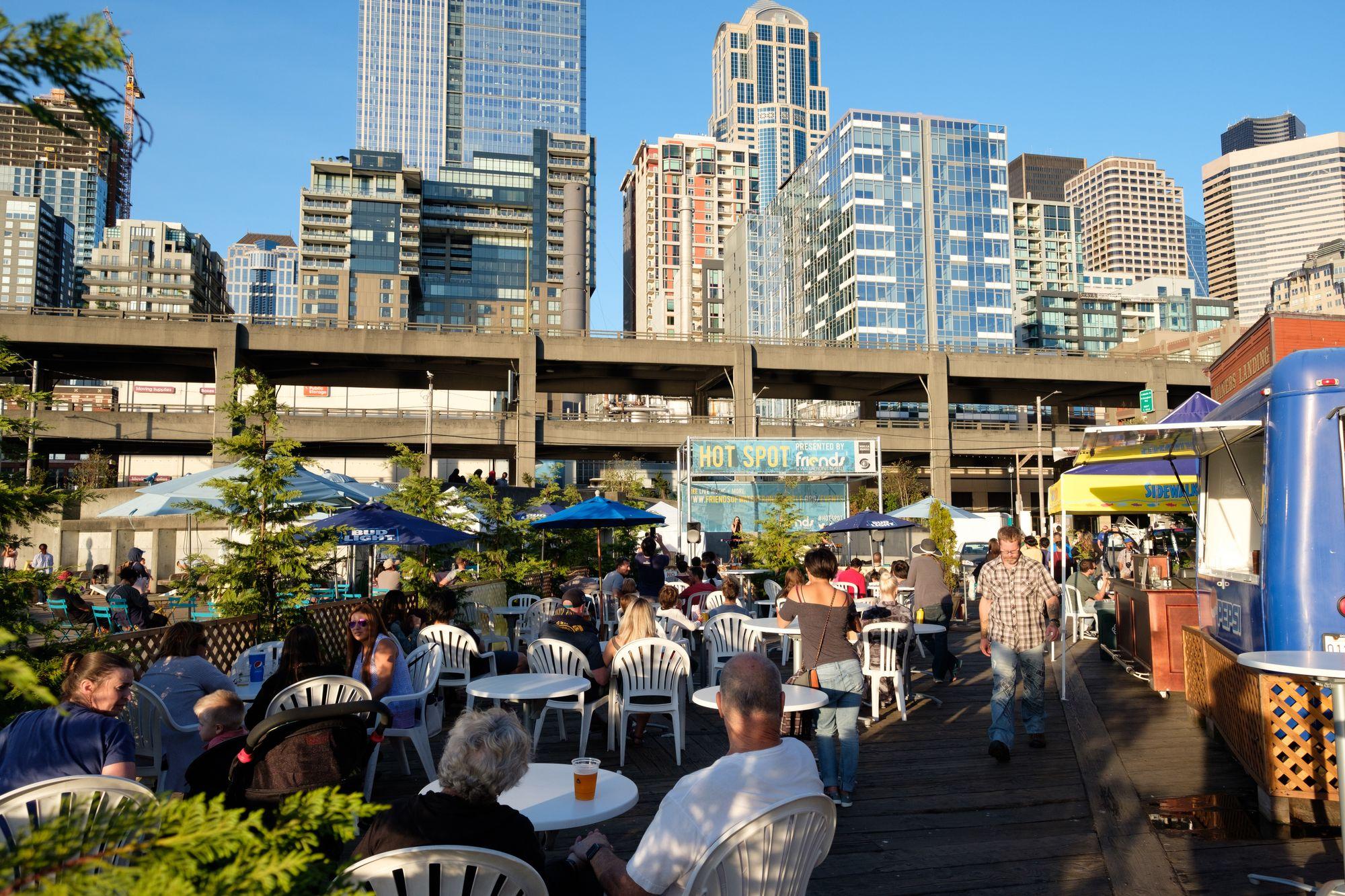Lemolo playing Friends of the Waterfront Seattle 2017