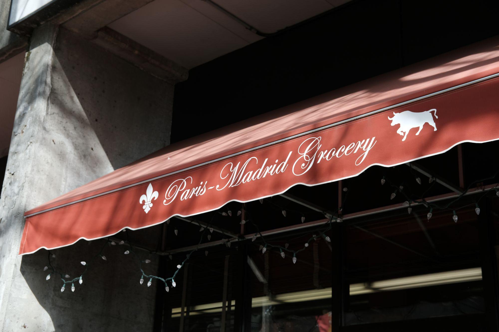 Paris Madrid Grocery Seattle