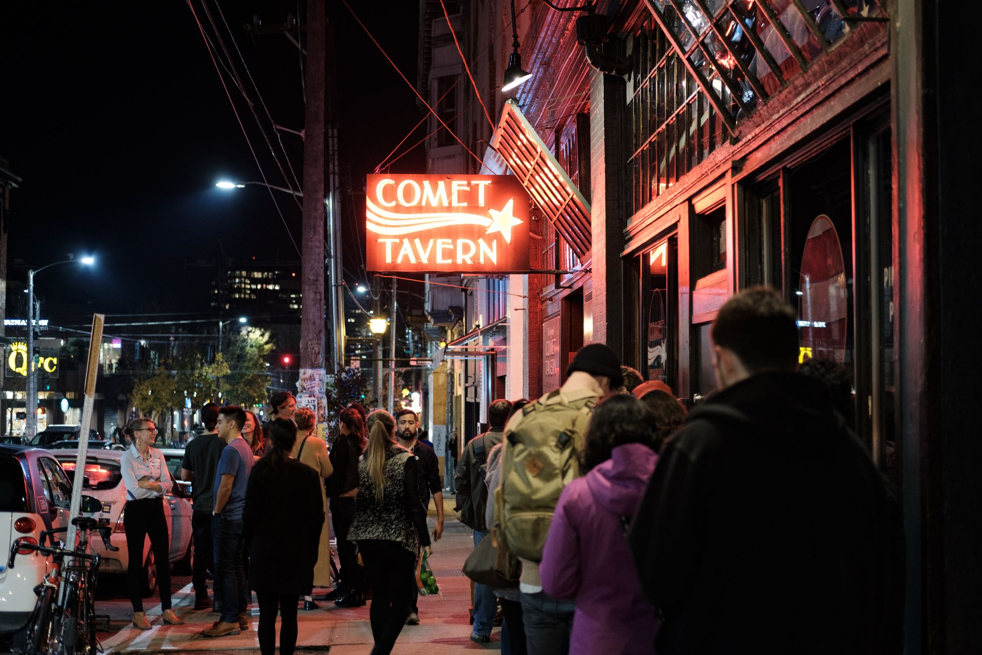 Out of the Shoebox: Comet Tavern